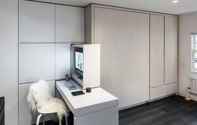 Visite Privée : Un 21 m² optimisé grâce à un mur de rangement