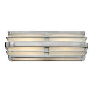 Winton 2 Light Bathroom Vanity Light in Brushed Nickel