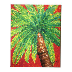 "Palm Tree Canvas Art, 16""x20"""