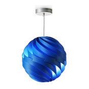 luján + sicilia TWISTER Blue Pendant Lamp