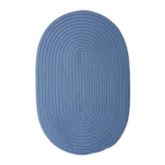 Colonial Mills, Inc - Colonial Mills Boca Raton BR55 Blue Ice 9' x 9' Round - Outdoor Rugs