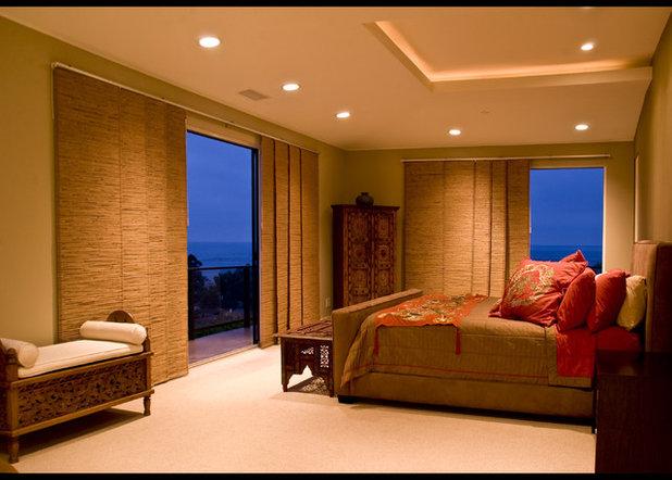 Asian Bedroom by VML Design & Lighting