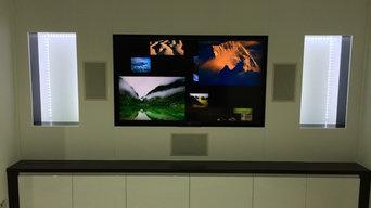 Chandlesford media room