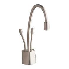 InSinkErator Hot Water Dispenser Satin Nickel, F-HC1100SN