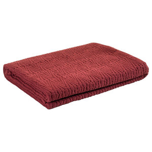 Southall Bedspread, Maroon, Super King 270x270 cm