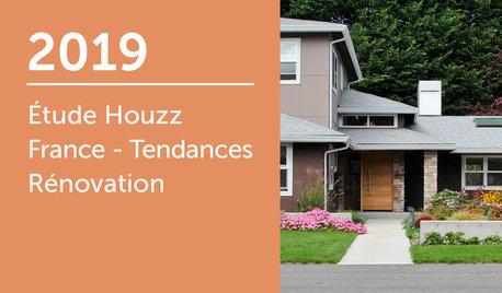 2019 Étude Houzz France : Tendances Rénovation