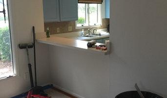 Sawgrass Blue Kitchen