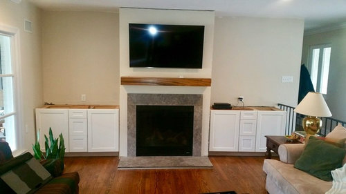 Need Help With Shelving Around Fireplace, Fireplace With Shelving On One Side