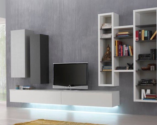 Modern Furniture Entertainment Center modern wall units