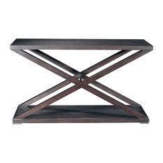 Allan Copley Designs Halifax Rectangular Console Table Espresso