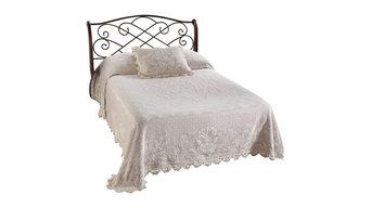 Abigail Adams Bedspread, White, Full