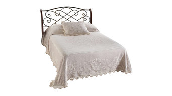 Abigail Adams Bedspread, White, Full