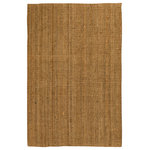 Natural Area Rugs - Calvin Jute Rug, Hand Loomed, Eco Friendly, 8' X 10' - Made from 100% Natural Jute, hand loomed by Artisan rug maker. Jute is naturally durable yet soft. Like any rug, rug pads are recommended as it will prolong the longevity of your jute rug and protect hardwood floor. Do not pull loose fiber, clip and remove the loose ends with scissors. Variations are part of the natural beauty of natural fiber.