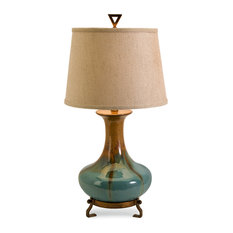 Benzara   Kirkly Ceramic Table Lamp   Table Lamps