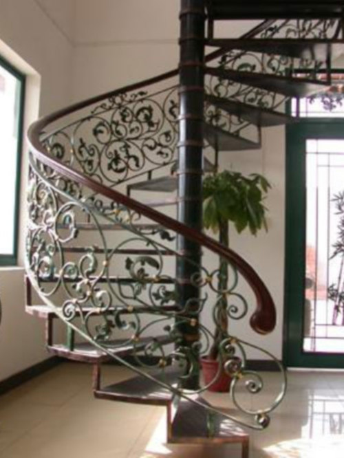 Indoor And Outdoor Wrought Iron Stairs   Outdoor Grills