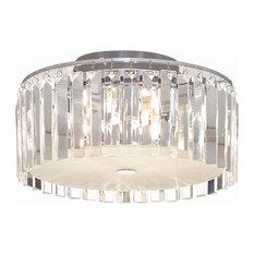 50 most popular halogen flush mount ceiling lights for 2018 houzz bazz round ceiling fixture flush mount ceiling lighting aloadofball Choice Image