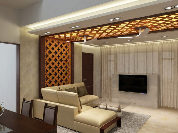 Modern Living Room by MK Design Architects And Interior Consultants