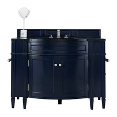 "Brittany 46"" Single Vanity Victory Blue, Cabinet Only(no Top)"