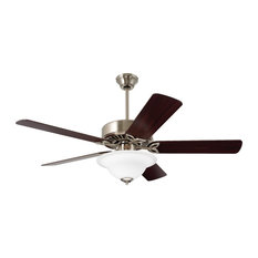 Most popular traditional ceiling fans houzz emerson ceiling fans emerson pro series 50 ceiling fan light in brushed steel aloadofball Gallery