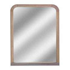 Henine Grey Wall Mirror, 88x68 cm