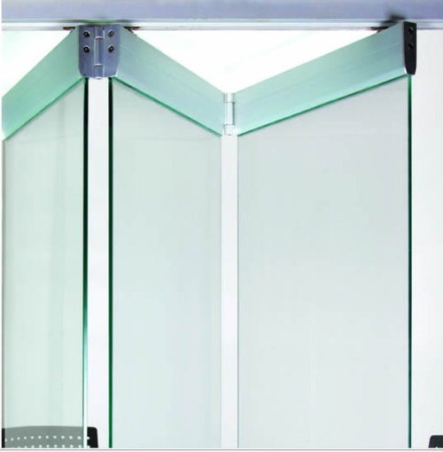 alaform frameless glass folding doors systems