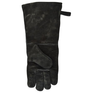 Fallen Fruits Cow Leather Fire Glove for BBQ, Log Burner, Fire Pit