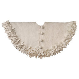 Transitional Christmas Tree Skirts by Arcadia Home