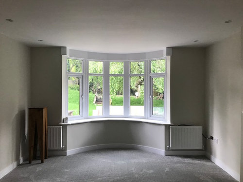 Any Ideas On How Best To Dress This Window With Curtains And Blinds I Want Just The Sides Not Necessarily Be Drawn But As