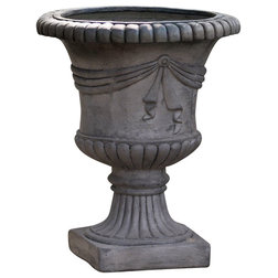 Traditional Outdoor Pots And Planters by GDFStudio