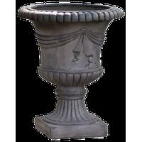 Kaylee Outdoor Traditional Roman Chalice Garden Urn Planter