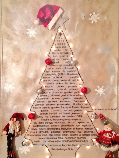 2014_Christmas Tree by Pebbledesign - Christmas Decorations