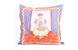 Emperor Pillow, Blue