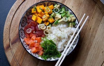 Aux fourneaux : Un poke bowl à la japonaise