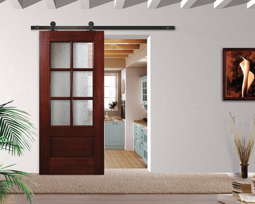 Residential barn doors for Residential sliding doors
