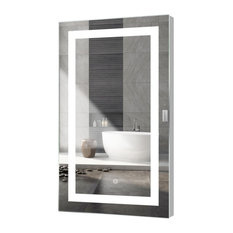 """Kent LED Mirror With Touch Sensor, 28""""x48"""""""