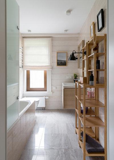 Скандинавский Ванная комната by Uliana Grishina | Photography
