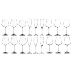 Traditional Wine Glasses by Lorenzo Import, LLC