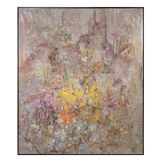 JOHN-RICHARD Oil Painting Teng Fei's Enchanted Garden Abstract Silver