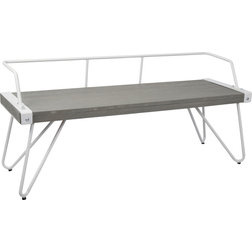 Midcentury Dining Benches by GwG Outlet