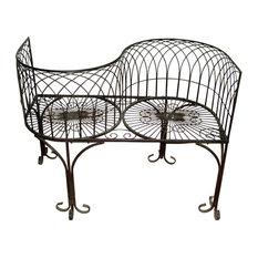 Tete-a-Tete Kissing Garden Bench