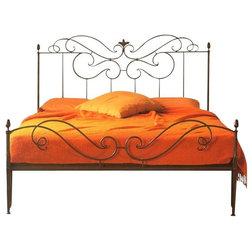 Superb Mediterranean Panel Beds by Tuscan Hills LLC