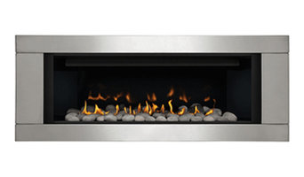 """Napoleon Linear 45"""" Gas Fireplace, LHD45NSB"""