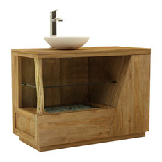 Liana Single Bathroom Vanity Unit, 100 cm