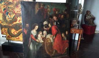 Restauración de obras de arte