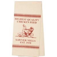 Sawyer Mill Red Chicken Towel