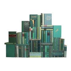Midcentury Boxwood Book Wall, S/75