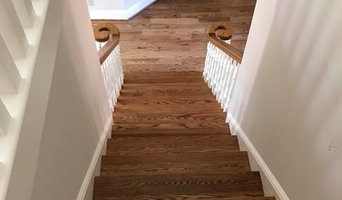 5 inch red oak with Special Walnut Stain-