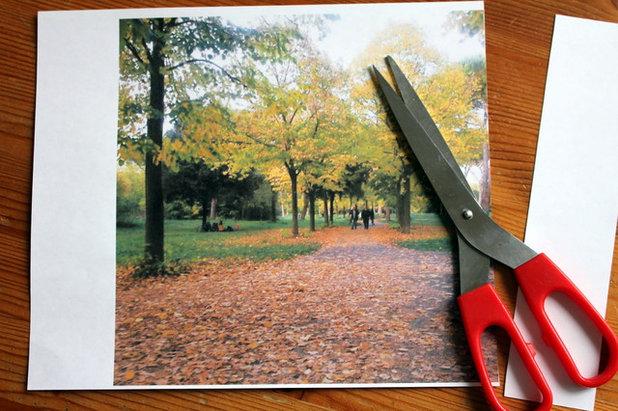 Fai da te: vecchie foto per un sottopentola che sembra una polaroid