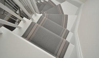Off The Loom stair runner - Gainford 1