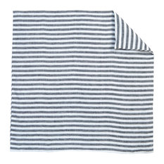 French Farmhouse Ticking Linen Decorative Thin Pin Striped Square Pillow Covers,